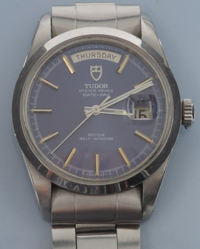 Lot 826-Tudor Oyster Prince Date Day: a gentleman's...