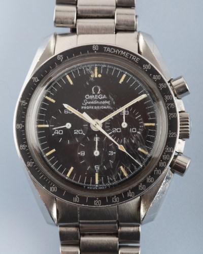 Lot 829-Omega Speedmaster Professional: a gentleman's...