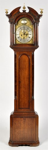 Lot 1106-Thomas Ogden, Halifax: a George III oak and...