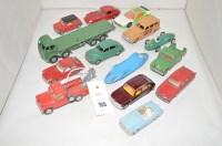 Lot 755 - Dinky 50's diecast model vehicles: 27F Car;...