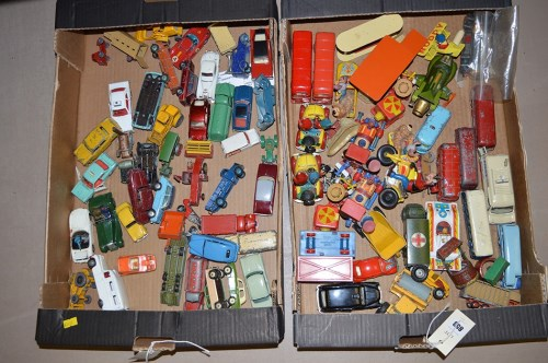 Lot 853 - Corgi, Dinky and other diecast model vehicles,...