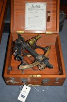 Lot 1083 - A 'Sestrel' sextant by Henry Browne & Sons Ltd....