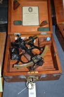 Lot 1084 - A 'Hezzanith' sextant, no. 2325, in fitted...