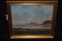 Lot 1140 - An oil painting, by Walter Holmes - St Mary's...