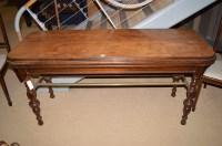 Lot 1456 - A Victorian mahogany kitchen table, raised on...