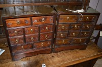 Lot 1469 - A 20th Century Chinese hardwood tabletop...