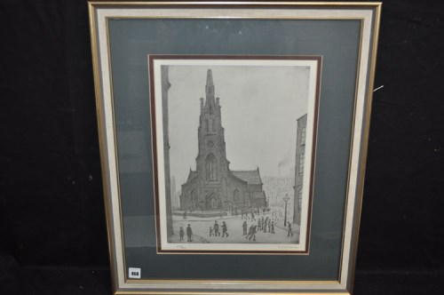 Lot 460-A limited edition signed print, by Lawrence...