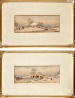 Lot 2 - George James Knox (1810-1897) WINTER...