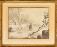 Lot 40 - Attributed to Robert Hills (1769-1844) TWO...