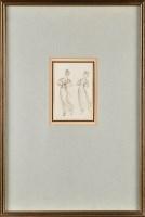 Lot 46 - Sir George Hayter (1792-1871) ''TWO DANCING...