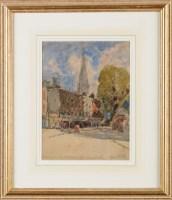 Lot 54 - George Edward Horton (1859-1950) ''ST. MARY'S...