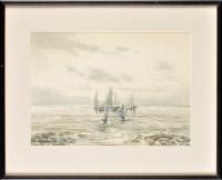 Lot 67 - Victor Noble Rainbird (1888-1936) ''EVENTIDE''...