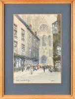 Lot 68 - Victor Noble Rainbird (1888-1936) ''YORK'' -...