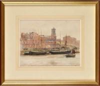 Lot 77 - Robert Jobling (1841-1923) ''ST. MARY'S,...