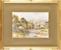Lot 85 - Harry James Sticks (1867-1938) A VIEW IN THE...
