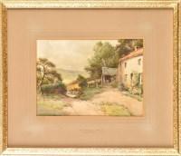 Lot 89 - Harry James Sticks (1867-1938) ''NEAR WINLATON...