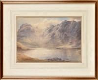 Lot 94 - Edward Arden (c.1847-1910) A LAKE DISTRICT...