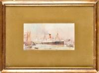 Lot 99 - Odin Rosenvinge (1880-1959) SHIPPING AT...
