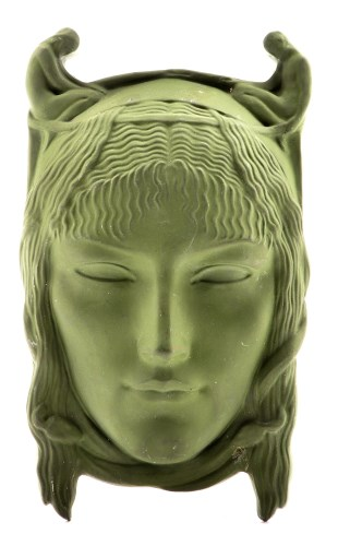 Lot 330-Richard Garb ARA for Doulton & Co., wall mask,...