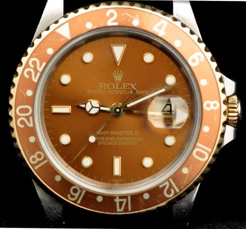 Lot 696-Rolex, GMT Master II: a gentleman's wristwatch,...