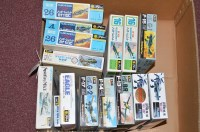 Lot 252-Fujimi model constructor kits, to include: 1:72...