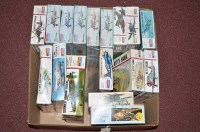 Lot 259-Monogram model constructor kits: 1:48 scale, to...