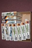 Lot 268 - Matchbox model constructor kits: 1-72 scale,...