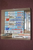 Lot 270 - Airfix model constructor kits: 1:144 scale,...