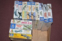 Lot 277 - Italeri model constructor kits: 1:72 scale, to...