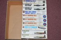 Lot 280 - Airfix model constructor kits: series 4 1:72...