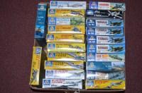 Lot 287 - Italaerei model constructor kits: 1:72 scale,...