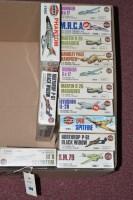 Lot 288 - Aitfix model construction kit: series 4,...