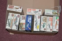 Lot 295 - Airfix model constructor kits: series 3, to...