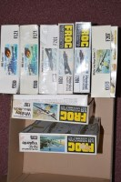 Lot 331 - Frog model constructor kits, 1:72 scale...