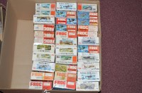 Lot 333 - Frog model constructor kits, red series,...