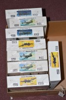 Lot 337 - Frog model constructor kits, 1:72 scale F-no's:...