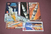 Lot 339 - Airfix model constructor kits, space interest,...