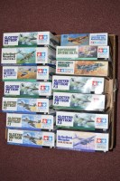 Lot 343 - Tamiya model constructor kits, to include: 83,...