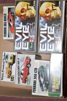 Lot 345 - Revell model constructor kits, to include; two...
