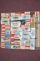 Lot 346 - Frog model constructor kits, red series, 1:72...
