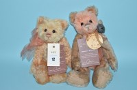 Lot 12 - Charlie Bears: Isabelle Collection, Priscilla,...