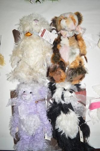 Lot 26-Charlie Bears: Mohair Year Bear, limited edition...