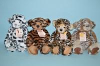 Lot 38 - Charlie Bears: Limited Edition Animal Print...