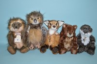 Lot 42 - Charlie Bears: Forest Friends, Quill-I-Am,...