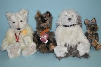 Lot 45 - Charlie Bears: Baxter, Pooch, Campbell and...