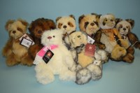 Lot 48-Charlie Bears: 10th Anniversary Collection,...