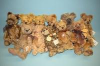 Lot 57-Charlie Bears: Darcy; Adele; Philomena; Matilda;...