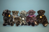Lot 66 - Charlie Bears: Dipsy; Smokey; Muckypup; Tara;...