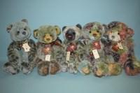 Lot 67 - Charlie Bears: Alicia; Lulabelle; Brewster;...