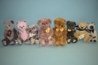 Lot 68 - Charlie Bears: Heather; Angela; Wisteria;...